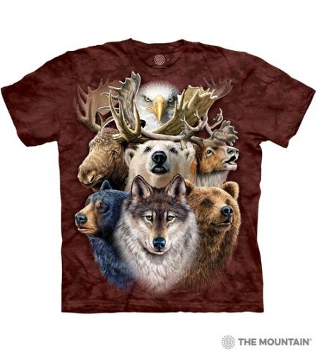 Northern Wildlife Collage T-shirt | The Mountain®